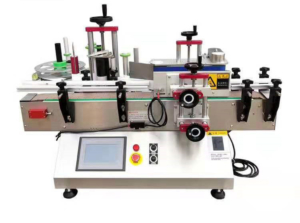 Table Type Round Bottle Labelling Machine