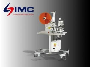 IMC-SARL Semi Automatic Round Bottle Labeling Machine